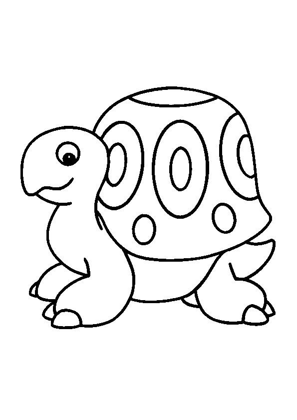 Coloriage petite tortue noir et blanc dessin gratuit - Tortue a colorier ...