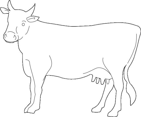 Coloriage un portrait de vache dessin gratuit imprimer - Vache a imprimer ...