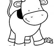 Coloriage dessin  Vache 2