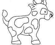 Coloriage Vache à télécharger