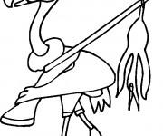 Coloriage et dessins gratuit Vautour chasseur à imprimer