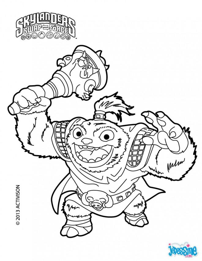 Coloriage et dessins gratuits Sky Lander animé à imprimer