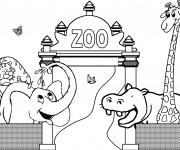 dessiner en ligne vos coloriages prfrs de zoo 3