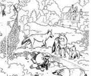 Coloriage et dessins gratuit Zoo à télécharger à imprimer