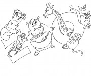 Coloriage et dessins gratuit Zoo et Animaux à imprimer