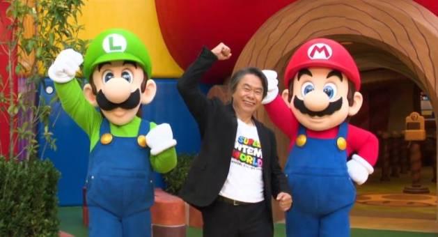 Inauguration de Mario Park au Japon en 2021