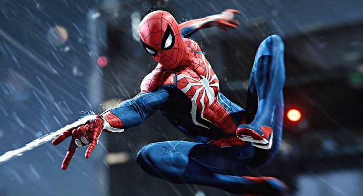 Le super héro Spiderman
