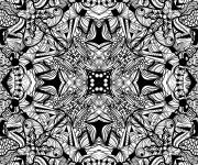 Coloriage et dessins gratuit Abstrait 10 à imprimer