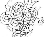 Coloriage et dessins gratuit Abstrait 16 à imprimer