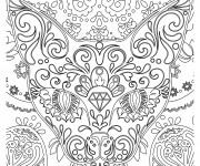 Coloriage et dessins gratuit Abstrait 20 à imprimer