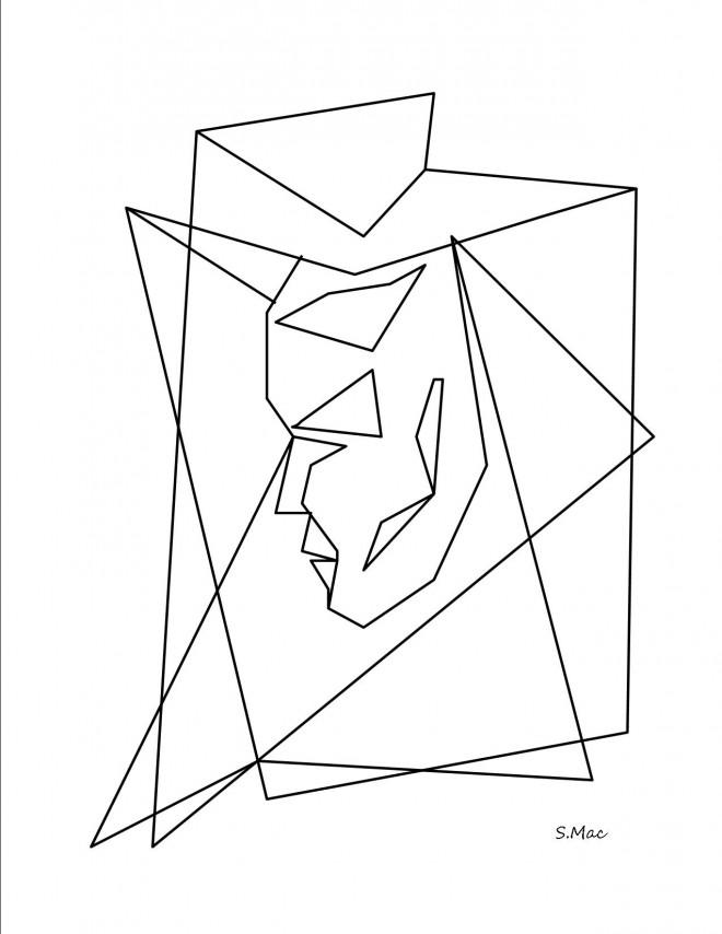 Coloriage et dessins gratuits Abstrait 26 à imprimer