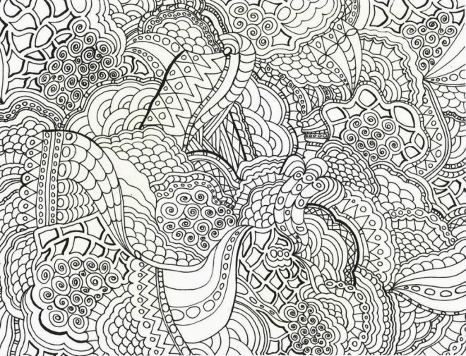 Coloriage et dessins gratuits Abstrait 46 à imprimer