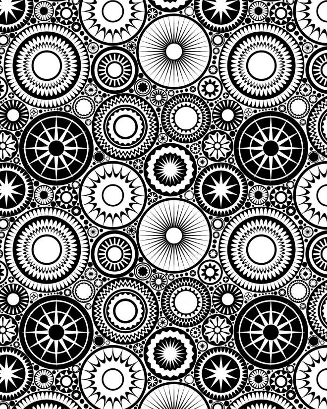 Coloriage et dessins gratuits Abstrait 50 à imprimer