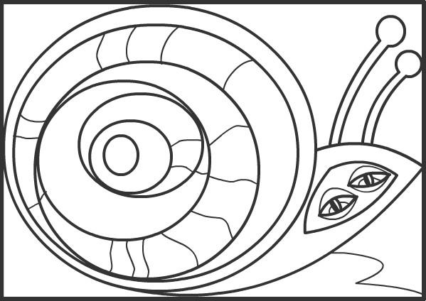 Coloriage et dessins gratuits Abstrait 55 à imprimer
