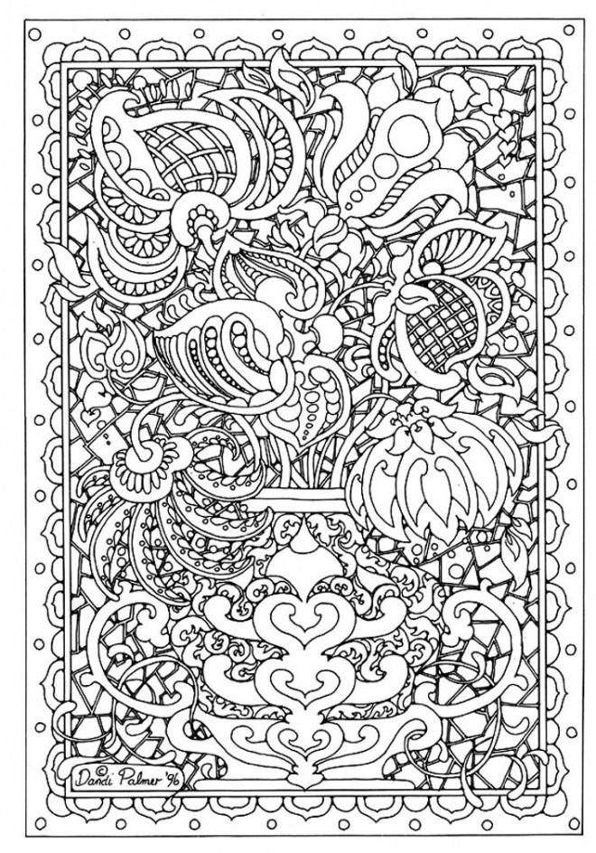 Coloriage et dessins gratuits Abstrait 59 à imprimer
