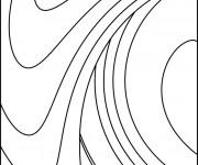Coloriage et dessins gratuit Abstrait 6 à imprimer