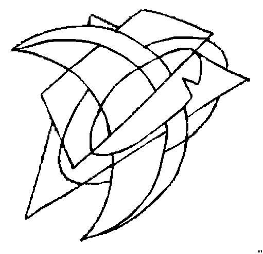 Coloriage et dessins gratuits Abstrait 64 à imprimer
