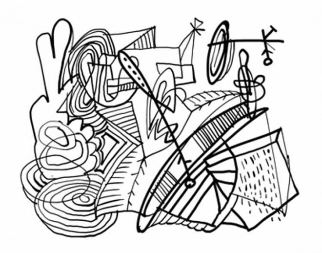 Coloriage et dessins gratuits Abstrait 80 à imprimer