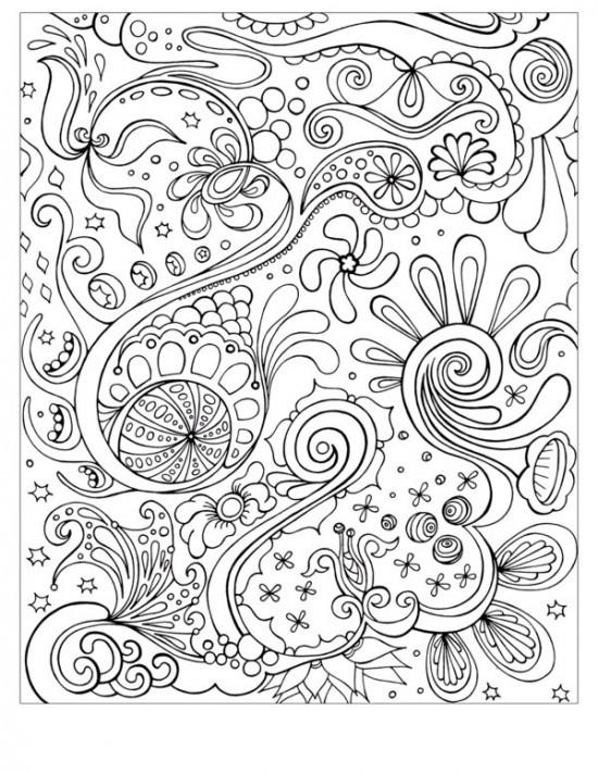 Coloriage et dessins gratuits Abstrait 81 à imprimer
