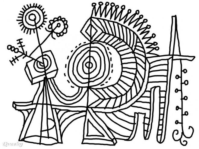Coloriage et dessins gratuits Abstrait 96 à imprimer