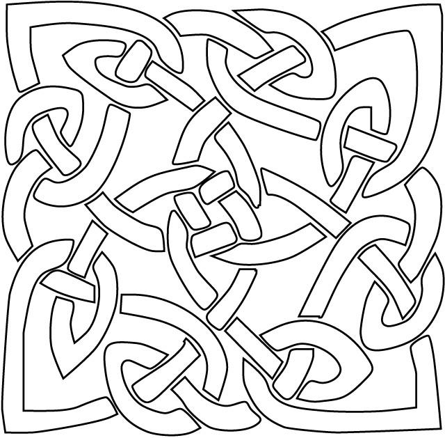 Coloriage et dessins gratuits Abstrait 99 à imprimer