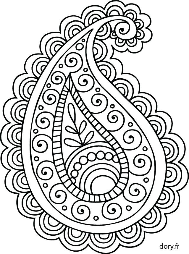Coloriage et dessins gratuits Abstrait Adulte à colorier à imprimer
