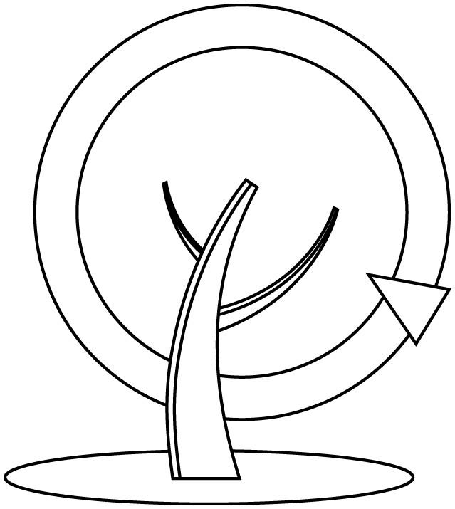 Coloriage et dessins gratuits Abstrait Arbre en ligne à imprimer