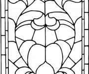 Coloriage et dessins gratuit Abstrait Église à imprimer
