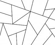 Coloriage et dessins gratuit Abstrait en ligne à imprimer