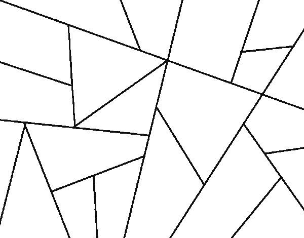 Coloriage et dessins gratuits Abstrait en ligne à imprimer