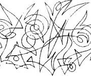 Coloriage Abstrait et Perception