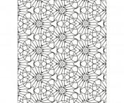 Coloriage et dessins gratuit Abstrait géométrique à imprimer