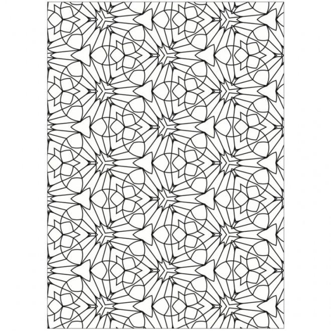 Coloriage et dessins gratuits Abstrait géométrique à imprimer