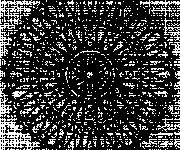 Coloriage Abstrait mandala à télécharger