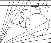 Coloriage et dessins gratuit Abstrait maternelle à imprimer