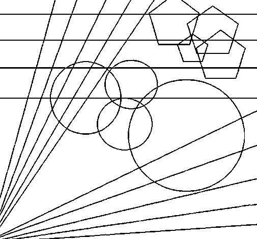 Coloriage et dessins gratuits Abstrait maternelle à imprimer
