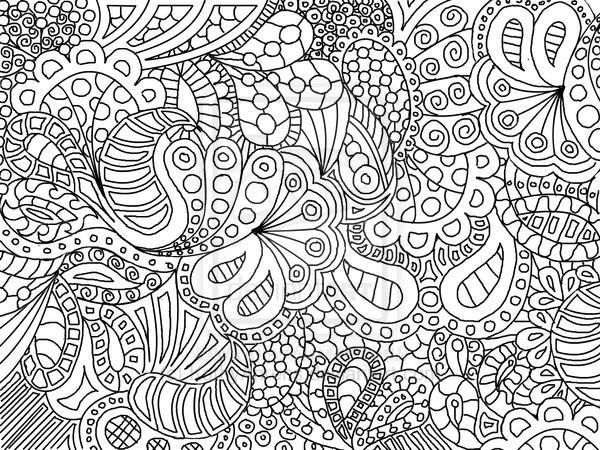 Coloriage et dessins gratuits Abstrait Nature et Vie à imprimer
