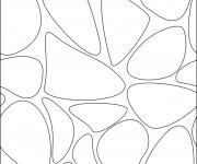 Coloriage et dessins gratuit Abstrait noir et blanc facile à imprimer