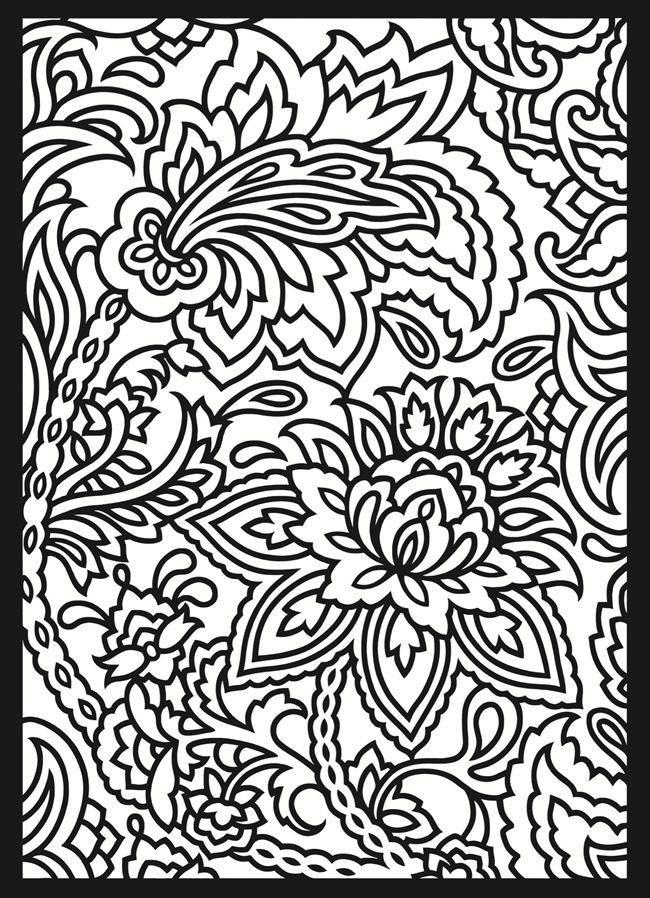 Coloriage et dessins gratuits Abstrait Plantes et Fleurs à imprimer