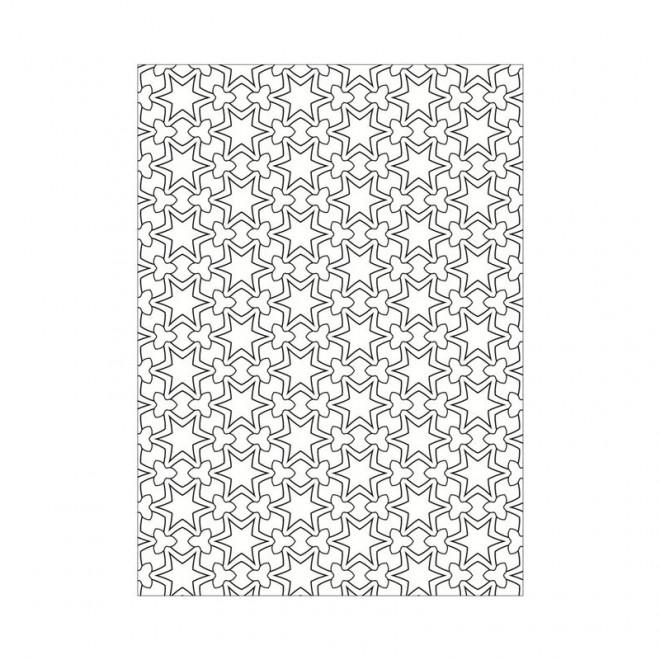 Coloriage et dessins gratuits Décoration Abstrait à imprimer