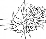Coloriage Illustration Abstrait