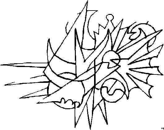 Coloriage et dessins gratuits Illustration Abstrait à imprimer
