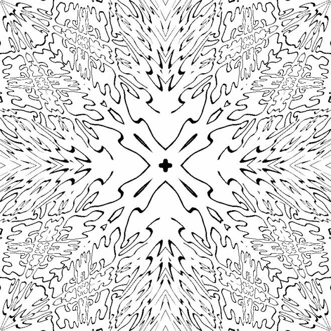 Coloriage et dessins gratuits Image Abstrait adorable à imprimer