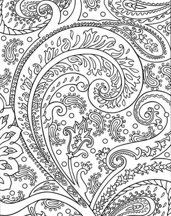 Coloriage et dessins gratuits Mandala Abstrait à imprimer