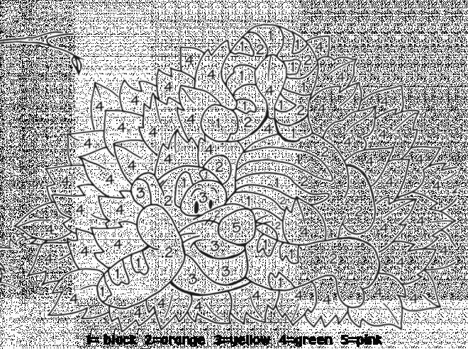 Coloriage et dessins gratuits Addition 45 à imprimer