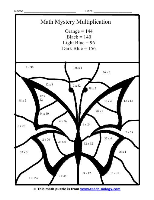 Coloriage et dessins gratuits Addition Papillon facile à imprimer