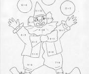 Coloriage et dessins gratuit Addition Pour Les Petits à imprimer