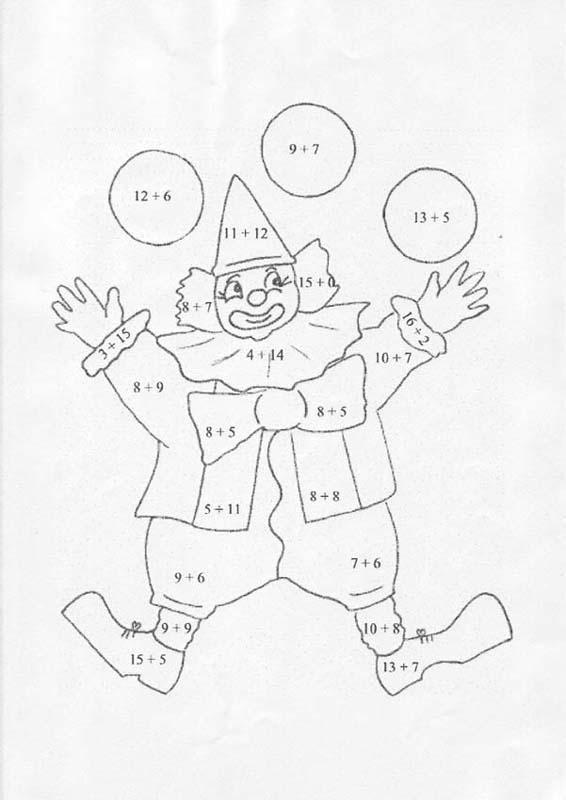 Coloriage et dessins gratuits Addition Pour Les Petits à imprimer