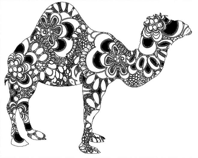Coloriage et dessins gratuits Adulte Animaux à imprimer