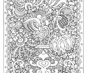 Coloriage et dessins gratuit Adulte Difficile à imprimer